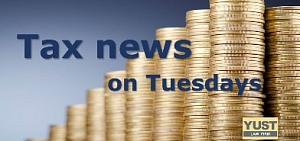 Tax news on Tuesdays (of 31-05-2016)